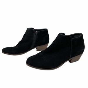 Crown Vintage Tabitha Black Heeled Bootie